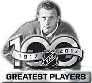 Dickie Moore - NHL Top 100 Greatest player